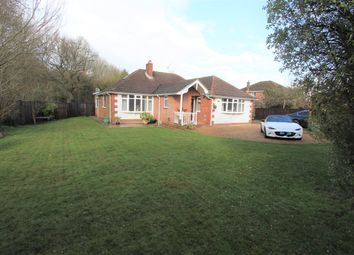 Thumbnail 4 bed detached bungalow for sale in Allington Lane, West End, Southampton