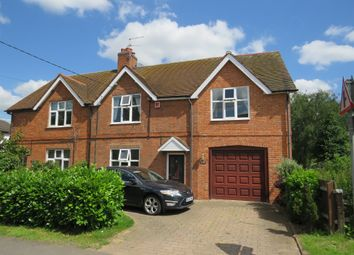 Thumbnail 4 bed semi-detached house for sale in West End, Long Whatton, Loughborough