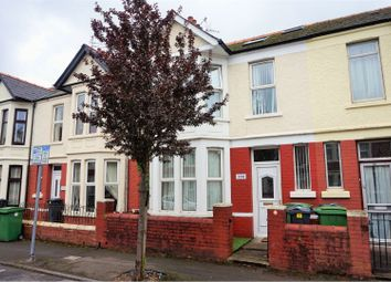 Thumbnail 4 bed terraced house for sale in Clodien Avenue, Cardiff