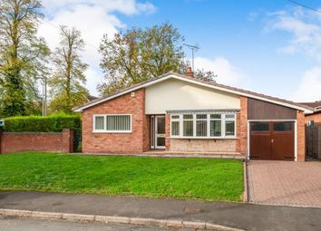 Thumbnail 3 bed bungalow for sale in Hill Farm Close, Stafford