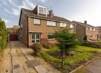 Thumbnail 4 bed semi-detached house for sale in Clerwood View, Corstorphine, Edinburgh