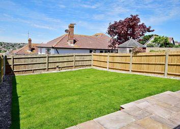 Thumbnail 2 bed semi-detached bungalow for sale in Longridge Avenue, Saltdean, Brighton, East Sussex