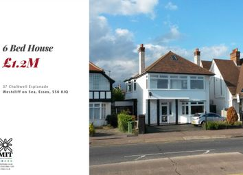 Thumbnail 6 bed detached house for sale in Chalkwell Esplanade, Westcliff-On-Sea