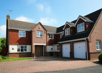Thumbnail 5 bed detached house for sale in Clumber Drive, Spalding