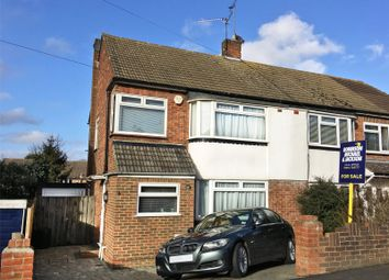 Thumbnail 3 bed semi-detached house for sale in Iden Road, Frindsbury, Kent