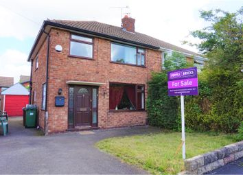 Thumbnail 3 bedroom semi-detached house for sale in Canberra Road, Stockport
