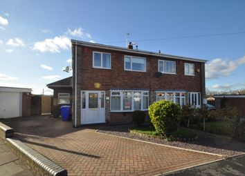 Thumbnail 3 bed semi-detached house for sale in Rolfe Close, Hanford, Stoke-On-Trent