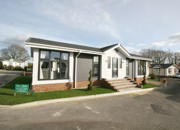Thumbnail 2 bed mobile/park home for sale in Six Bells Park, Woodchurch