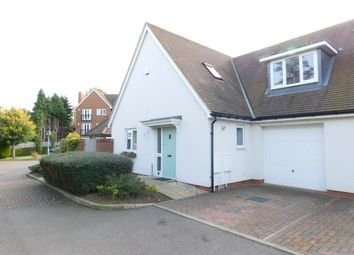 Thumbnail 3 bed semi-detached house for sale in Pix Brook Court, Norton Way North, Letchworth, Herts