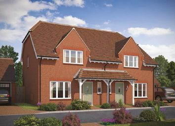 Thumbnail 3 bed semi-detached house for sale in Tadpole Garden Village, Blunsdon, Swindon
