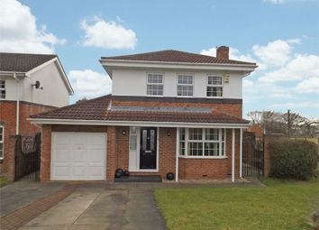 Thumbnail 4 bed detached house for sale in Byron Court, Crook, Durham