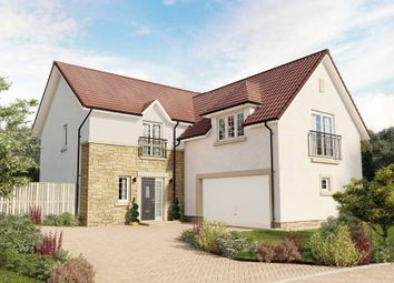 "Thumbnail 5 bed detached house for sale in ""The Dewar"" at Eaglesham Road, East Kilbride, Glasgow"