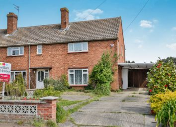 Thumbnail 2 bed end terrace house for sale in East Hills Road, New Costessey, Norwich