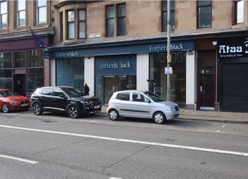 Thumbnail Retail premises for sale in Great Western Road, Glasgow
