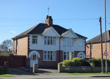 Thumbnail 3 bed semi-detached house for sale in Aylestone Lane, Wigston, Leicester, Leicestershire