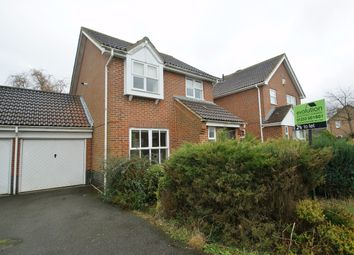 Thumbnail 3 bed detached house to rent in Hawthorn Road, Kingsnorth, Ashford