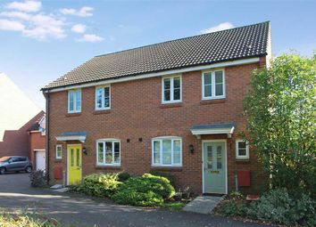 Thumbnail 3 bed semi-detached house for sale in Halls Drift, Grange Farm, Kesgrave, Ipswich