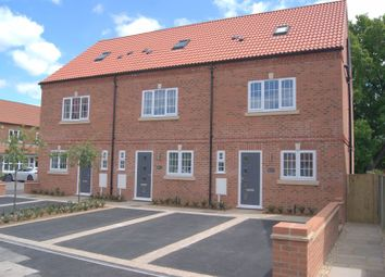 Thumbnail 3 bed terraced house for sale in Willow Drive, North Muskham, Newark
