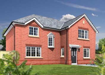 Thumbnail 4 bed detached house for sale in The Oxford Lawton Green, Alsager, Stoke-On-Trent