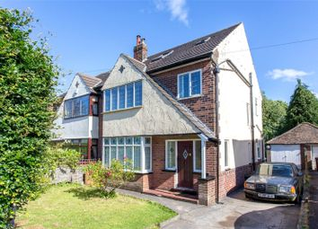 Thumbnail 5 bed semi-detached house to rent in Alwoodley Lane, Leeds, West Yorkshire