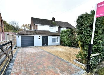 Thumbnail 3 bed semi-detached house for sale in Middlemoor Road, Frimley, Camberley, Surrey