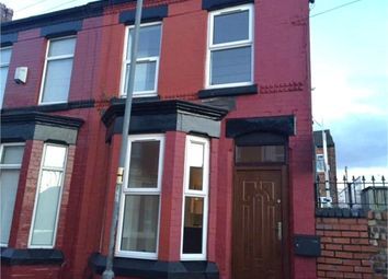 Thumbnail 3 bedroom end terrace house for sale in Bell Street, Old Swan, Liverpool, Merseyside