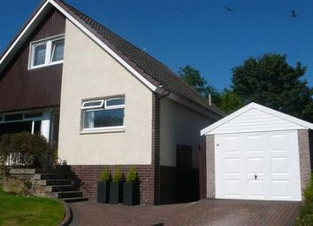 Thumbnail 4 bed detached house for sale in Scott Drive, Greenfaulds, Cumbernauld