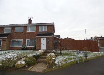 Thumbnail 3 bed semi-detached house for sale in Deveron Close, Coalville