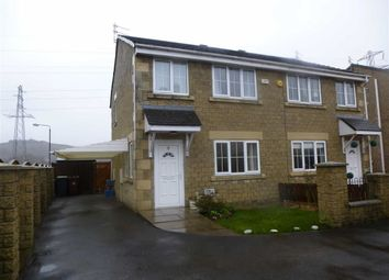 Thumbnail 3 bed semi-detached house for sale in Mill Pond Ave, New Mills, Derbyshire