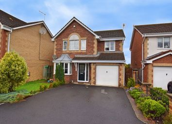 Thumbnail 4 bed detached house for sale in Carlow Drive, West Sleekburn, Choppington