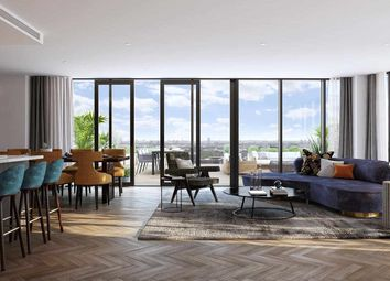 Thumbnail 2 bed flat for sale in Arrival Square, London