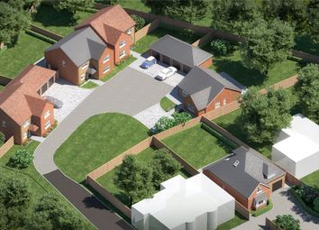 Thumbnail 4 bed country house for sale in The Oaks, Moulton, Northampton