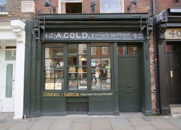 Thumbnail Retail premises to let in Brushfield Street, London