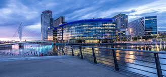 Thumbnail 2 bedroom flat for sale in Salford Quays, Salford Quays, Greater Manchester M50, Salford Quays,