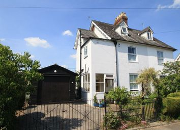 Thumbnail 3 bedroom semi-detached house for sale in Croft Villas, Wallingford