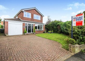 Thumbnail 3 bed detached house for sale in Wetenhall Drive, Leek, Staffordshire