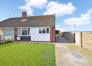 Thumbnail 2 bed semi-detached bungalow for sale in Williamson Road, Lydd On Sea, Kent