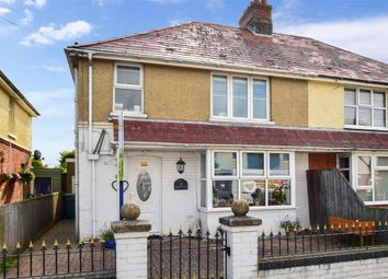 Thumbnail 3 bed semi-detached house for sale in Eddington Road, Seaview, Isle Of Wight