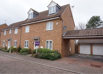 Thumbnail 4 bed semi-detached house for sale in Watson Close, Corby