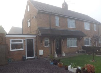 Thumbnail 3 bed semi-detached house for sale in Chester Road, Audley, Stoke-On-Trent, Staffordshire