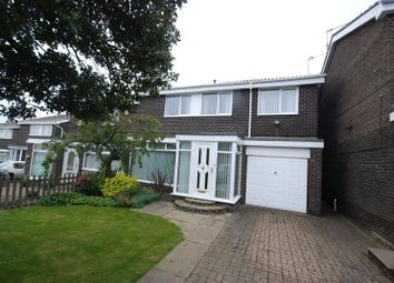 Thumbnail 5 bed semi-detached house for sale in Woodlands Road, Ashington