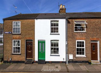 Thumbnail 2 bed terraced house for sale in Church Street, St Albans, Hertfordshire