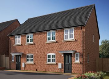 "Thumbnail 3 bed semi-detached house for sale in ""The Eveleigh"" at Southfield Lane, Tockwith, York"