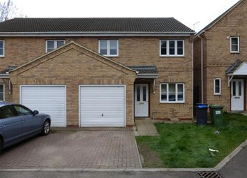 Thumbnail 3 bed semi-detached house to rent in Atkinson Street, Peterborough