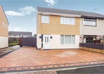 Thumbnail 3 bed semi-detached house for sale in Heol Gelynog, Pontypridd