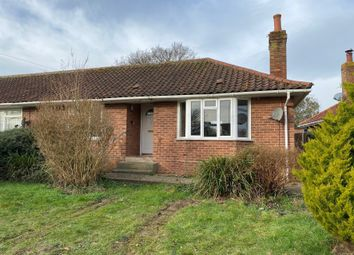 Thumbnail 2 bed semi-detached bungalow for sale in 30 Francis Road, Long Stratton, Norwich, Norfolk