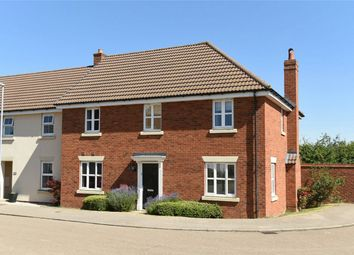Thumbnail 4 bed end terrace house for sale in Ridge View, Houghton Conquest, Bedford