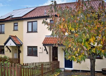 Thumbnail 2 bed terraced house for sale in The Orchards, Laxfield, Woodbridge