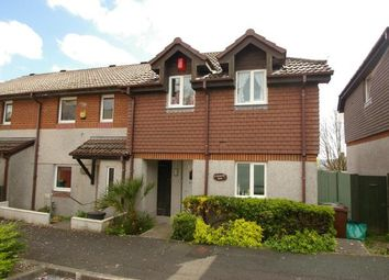 Thumbnail 3 bedroom end terrace house for sale in Plymouth, Devon, England