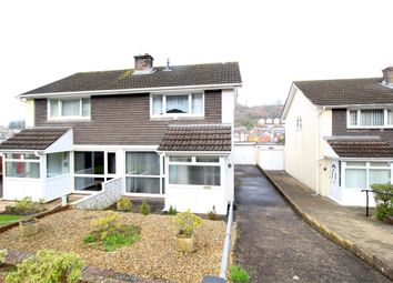 Thumbnail 2 bed semi-detached house for sale in East Grove Road, Newport